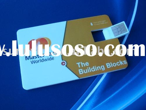 Bank card Flash drive,publicize your company well