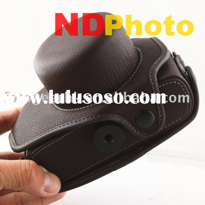 Digital Camera Accessory Leather Case for Leather Case for Olympus E-P1 E-P2 EP1 EP2 EPL1
