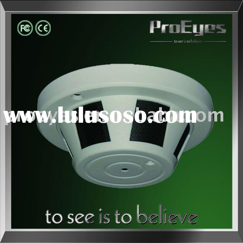 Hidden Smoke Detector Design Camera
