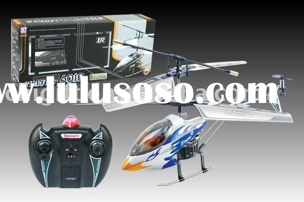 METAL 3CH RC Helicopter 6010