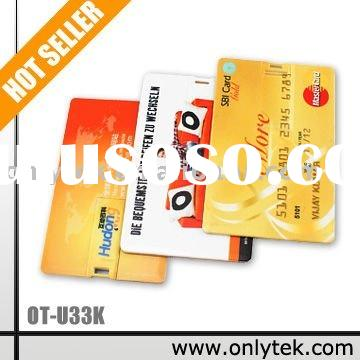 Popular USB credit card, Full color print is available