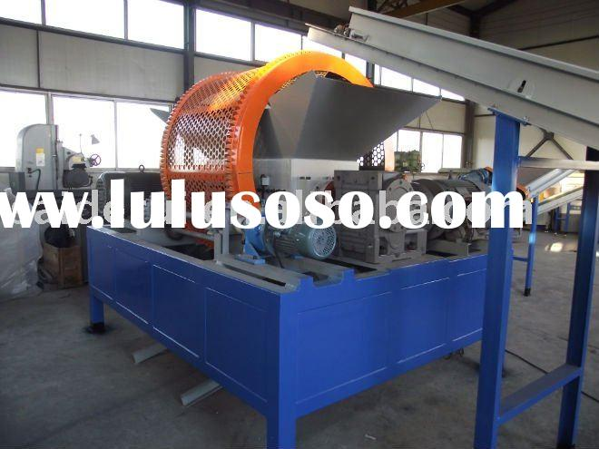 scrap metal shredder,tire crusher,waste wire recycling machine