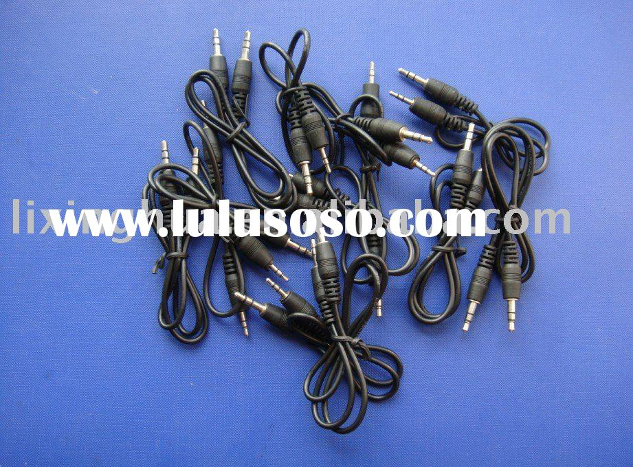 3.5 to 3.5 two sound track stereo audio cable