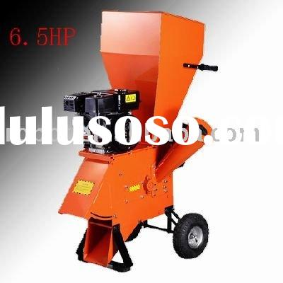 6.5HP track whole tree chipper