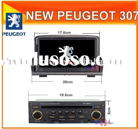 "7"" Touch Screen HD Car DVD Player/GPS/steering wheel controlfor New PEUGEOT 307"