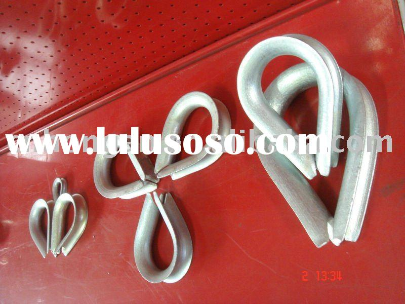 Commercial Galvanized Wire Rope Thimble