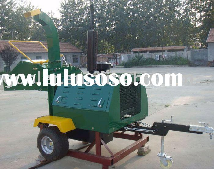 Diesel wood chipper, wood shredder WC-40