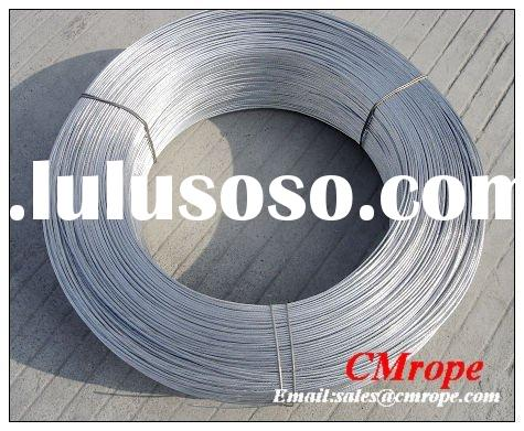 Galvanized steel wire rope 1x12