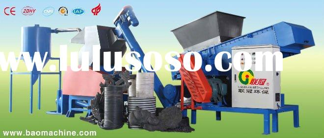 Online scrap plastic recycling  crusher
