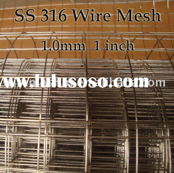 Stainless Steel 316 Wire Mesh: Welded