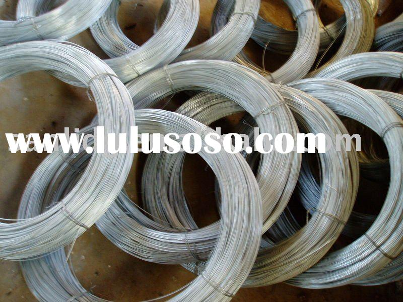 all specification of hot dipped  galvanized iron wire