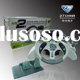 for xbox360 wired racing wheel for xbox360 game console