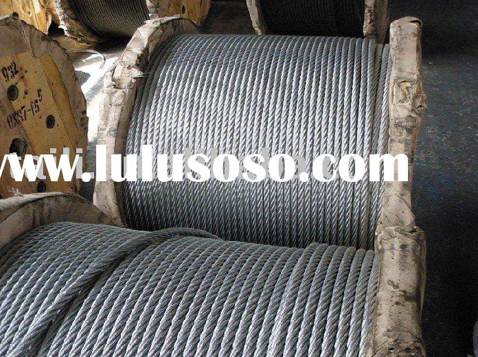 galvanized wire/stock/steel rope