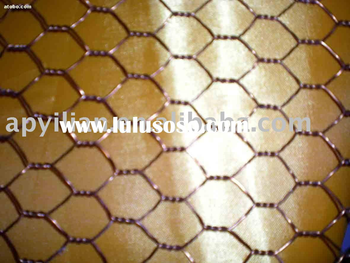 hexagonal wire mesh(fencing)