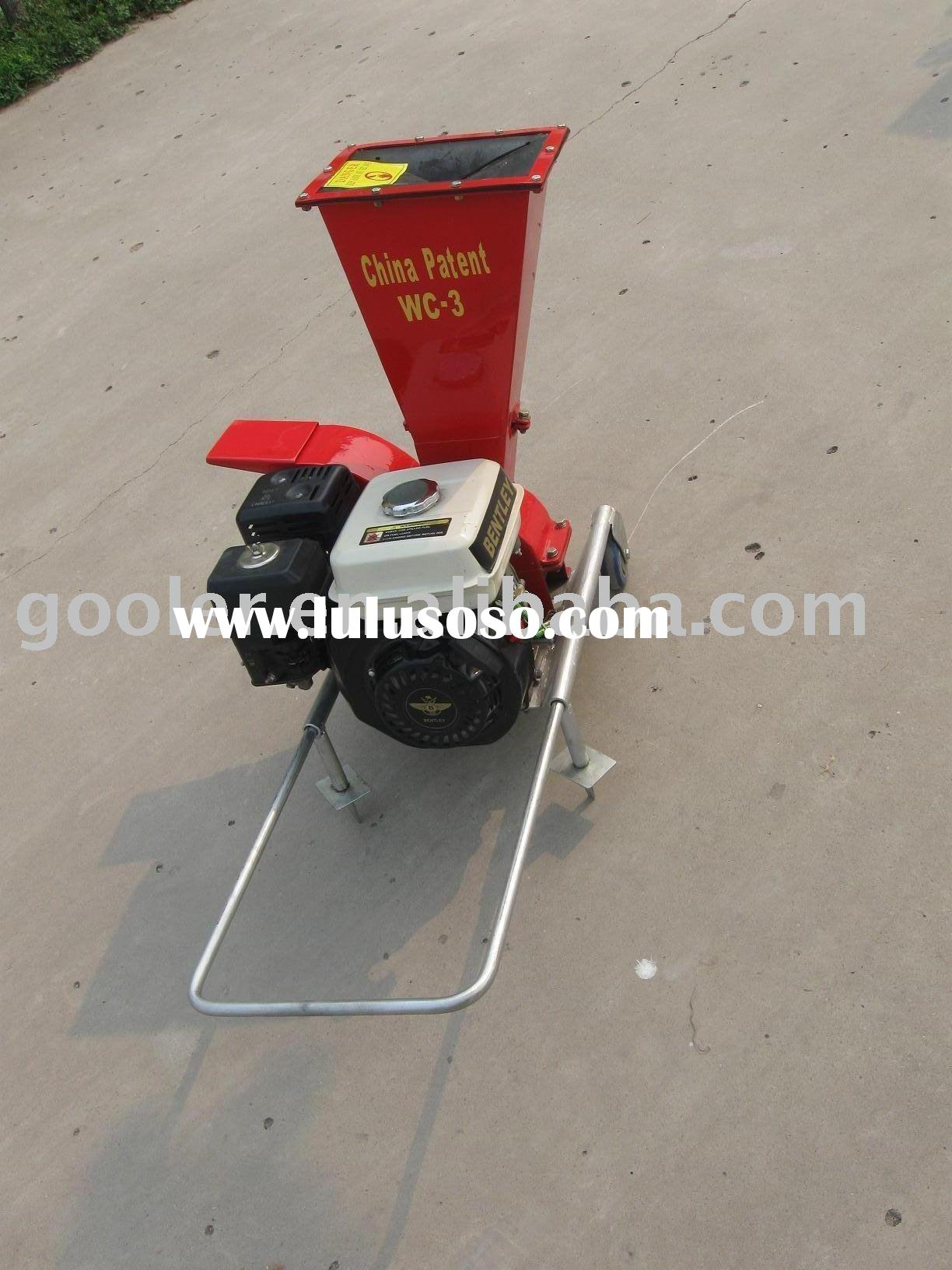small shredder / chipper with 7HP gasoline engine