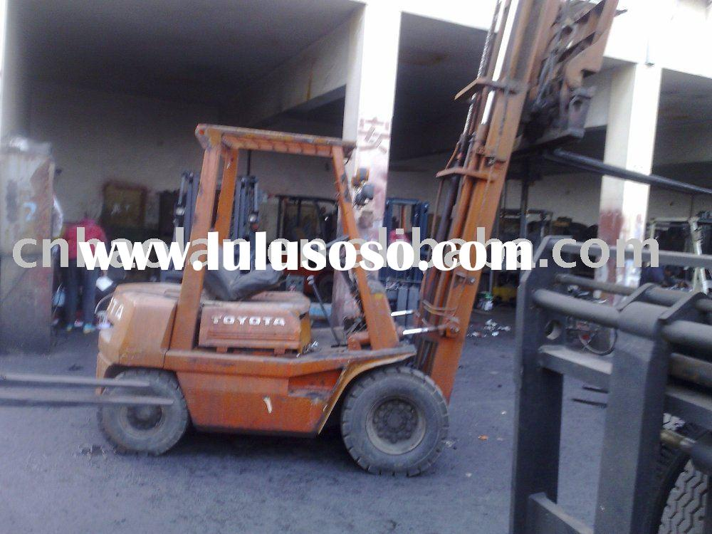 2.5ton toyota japan used forklift