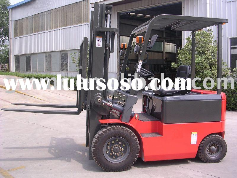 Battery Forklift Truck With Charger