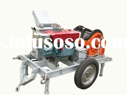Cable windlass,steel wire winch