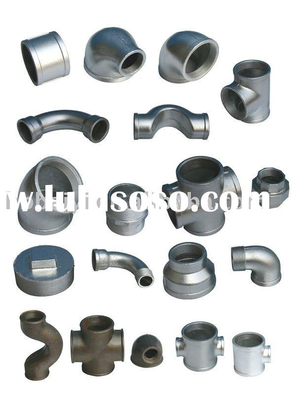 Chinese  malleable iron pipe fitting (BY factory)