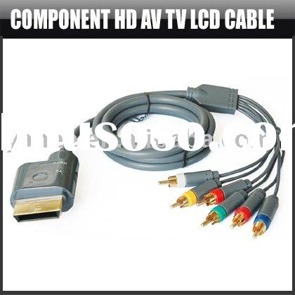 Component HD TV LCD Cable Wire Phono for Xbox,YHA-XB010
