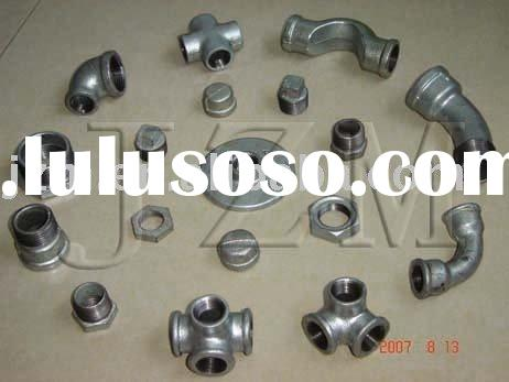 DIN ANSI DIN standard malleable iron pipe fittings