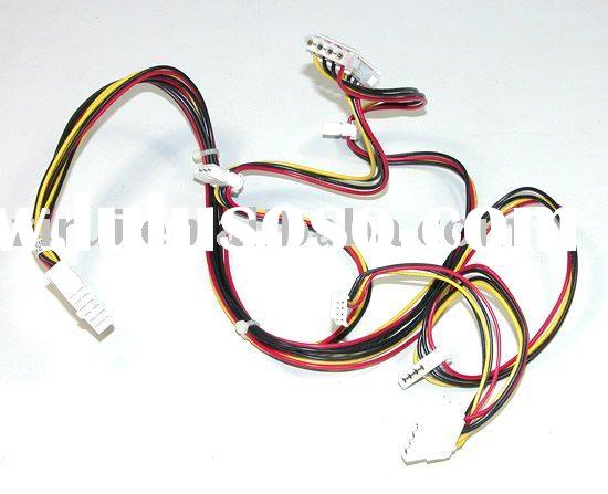Flat cable wiring harness