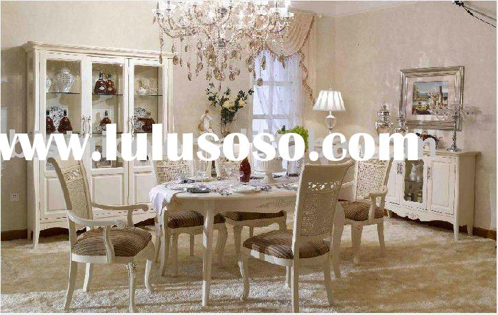 French country style villa furniture set   Villa dining room furniture B49156