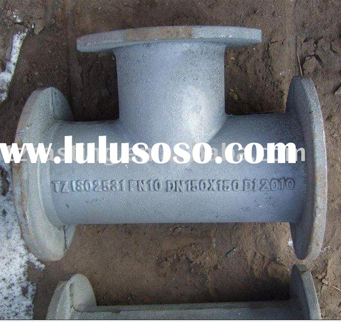 ISO2531 All Flanged Tee-ductile iron pipe fittings