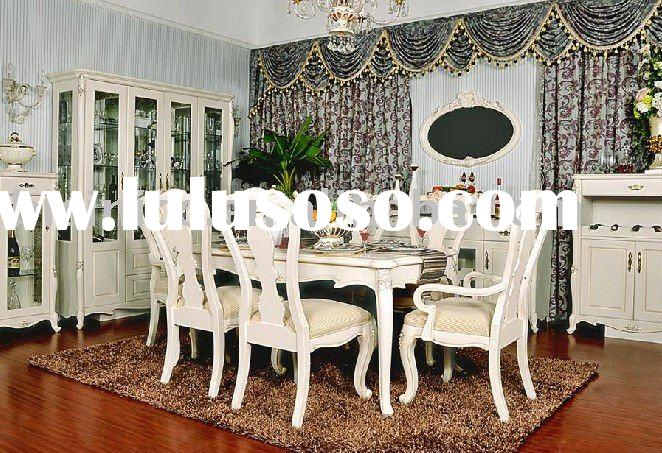 Luxury European style dining room furniture B49115