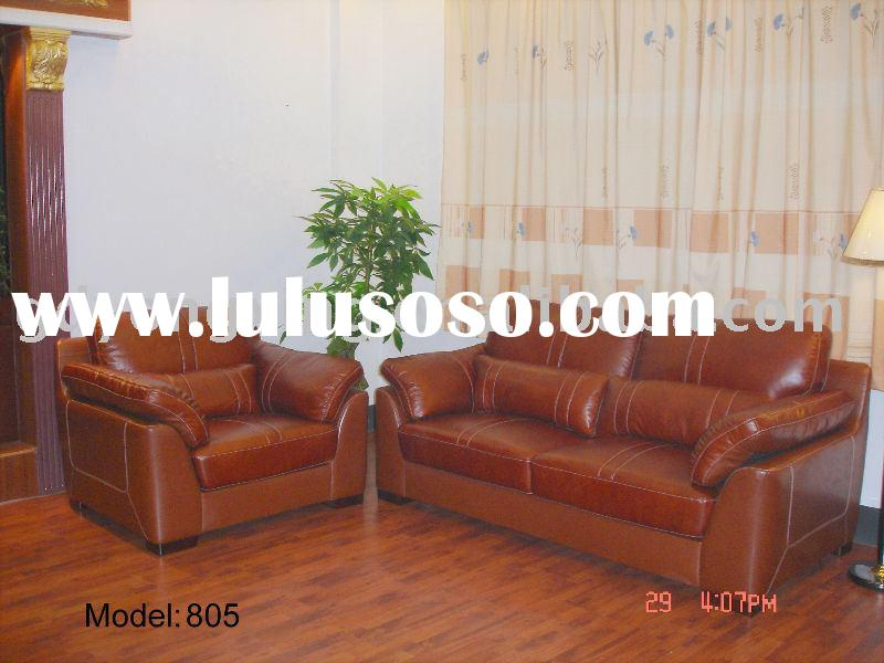 Modern 805# leather sofa sets