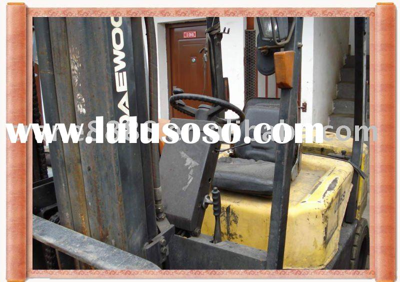 Newly used Daewoo 2.5T forklift used Daewoo forklift used machine