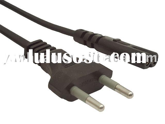 Power cable cord set Electric Radio wire with plug TV dryer cord
