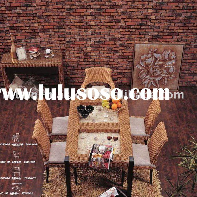 RA8001 seagrass dining sets/restaurant furniture