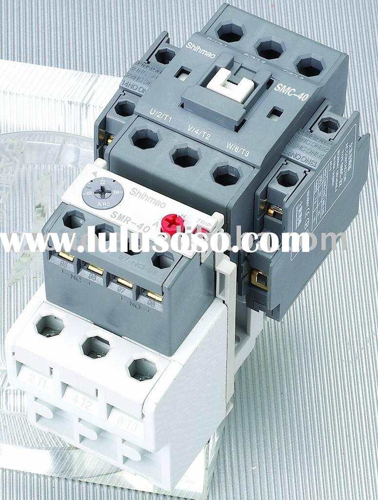 SMC-40 AC CONTACTOR WITH RELAY