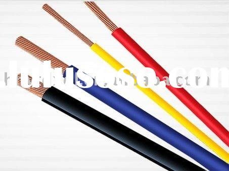 Signle Twisted Copper Core PVC insulated Electrical Wire
