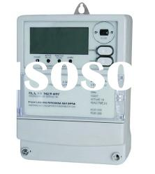 THREE PHASE FOUR WIRE ELECTRONIC FRONT BOARD INSTALLED MULTIFUNCTIONAL ACTIVE ENERGY METER
