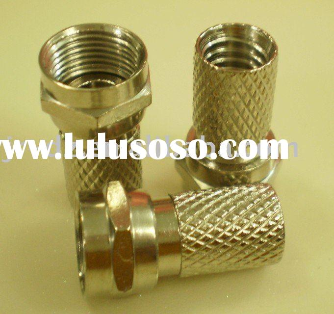 TV cable coxial wire jack connector