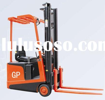 Three wheel Counterweight electric forklift truck