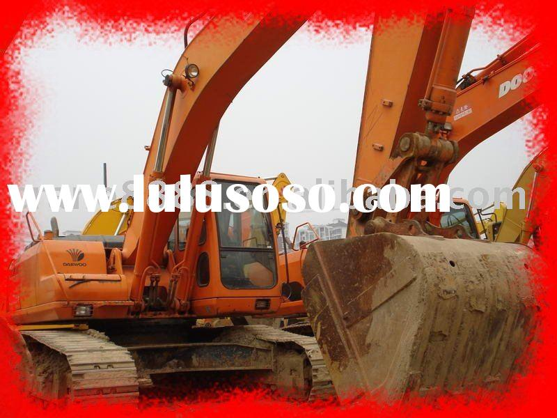 Used Excavator,Daewoo Doosan excavator Solar 250 LC-V, Made in Korea, in very good working condition