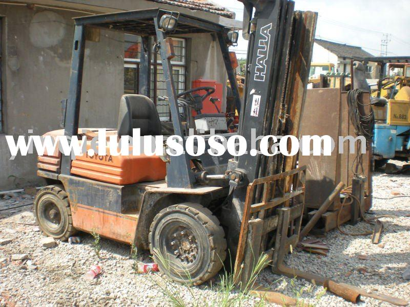 Used TOYOTA 2.5T forklift,second hand forklift