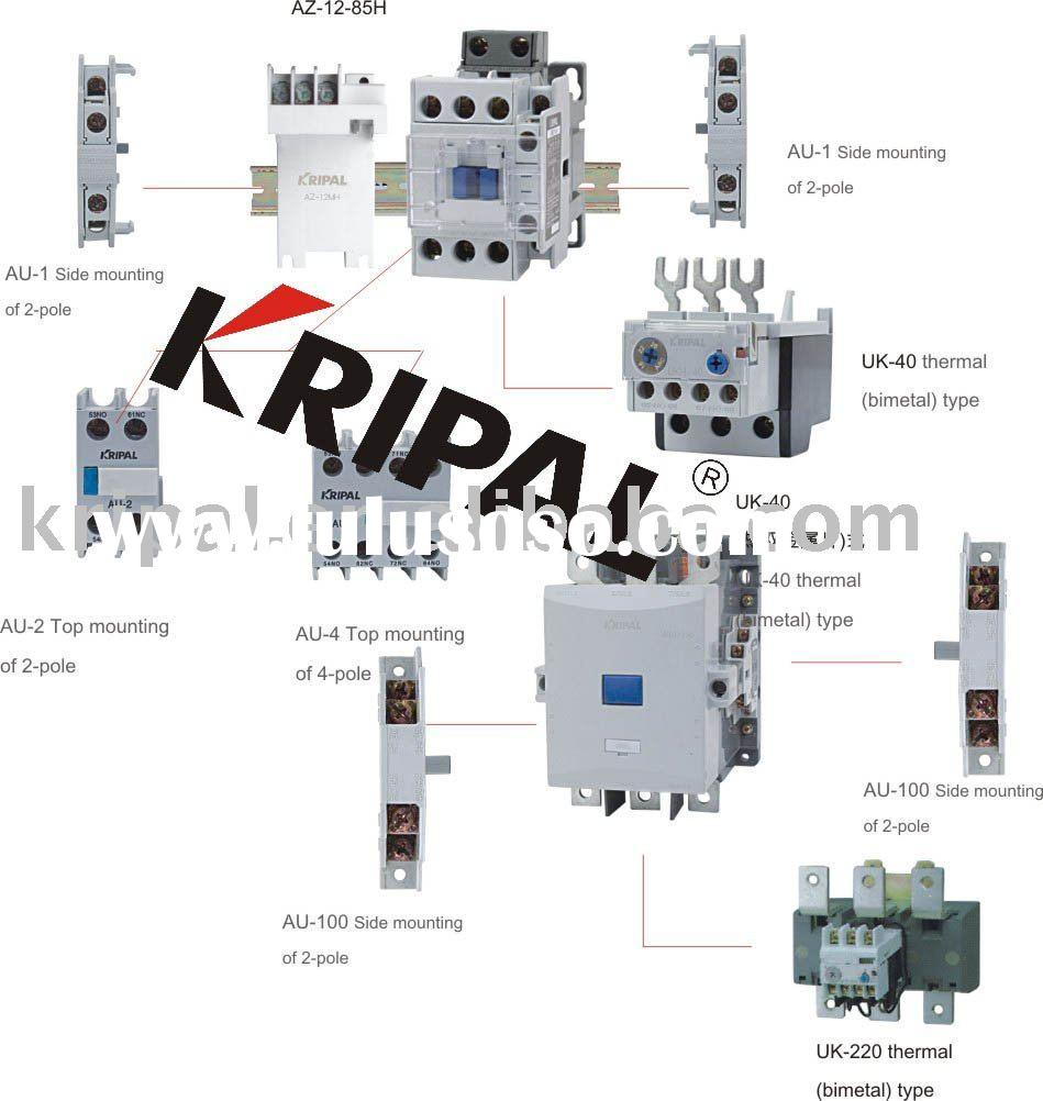Motor Wiring Diagram Furthermore Thermal Overload Relay