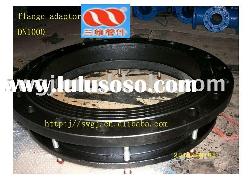 flange adaptor for ductile iron pipe fitting