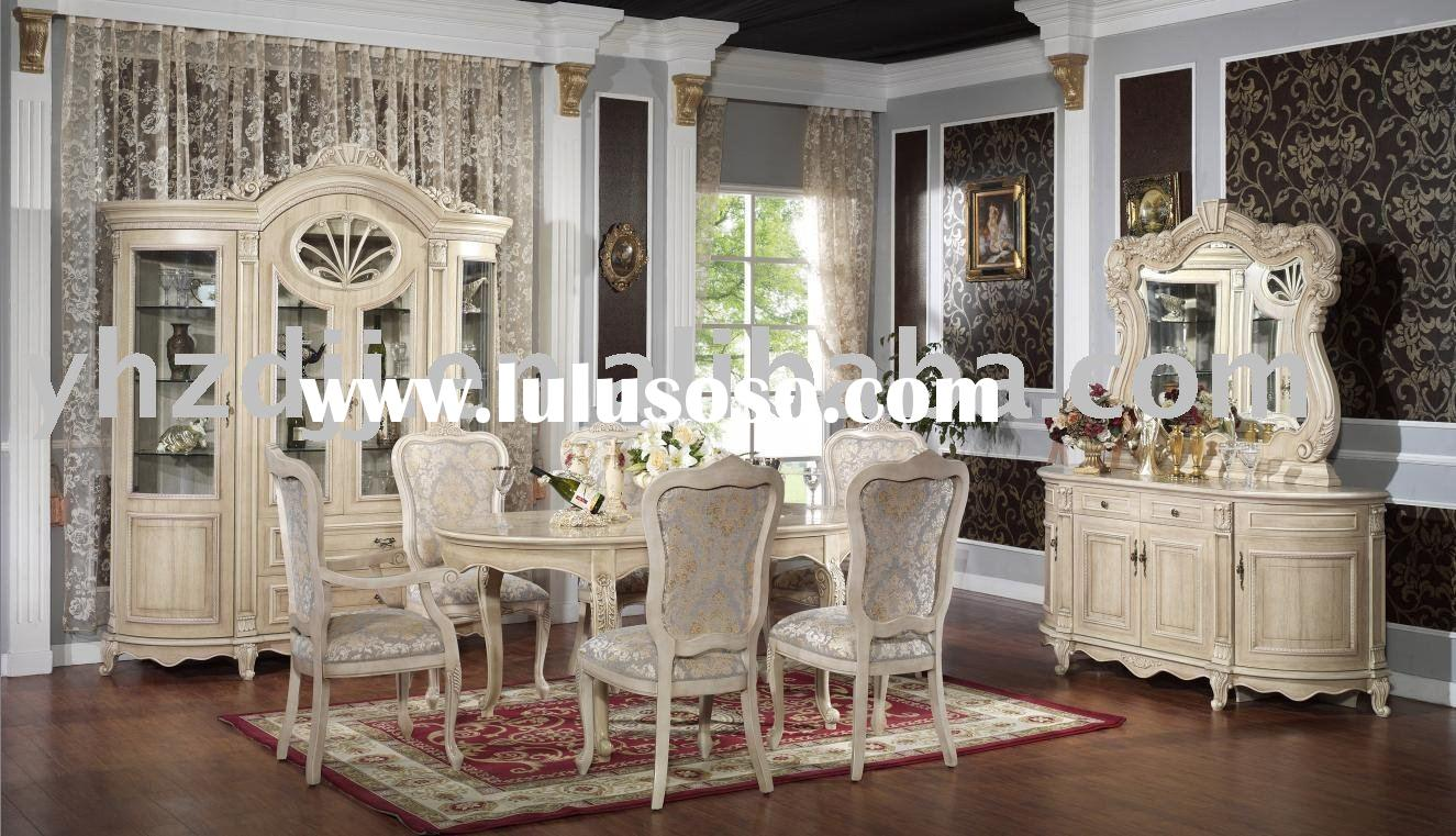 home  furniture european classic dining room set 8008-1