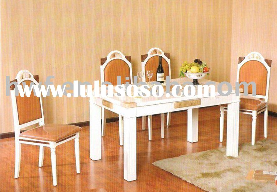 marble dining table and chair set