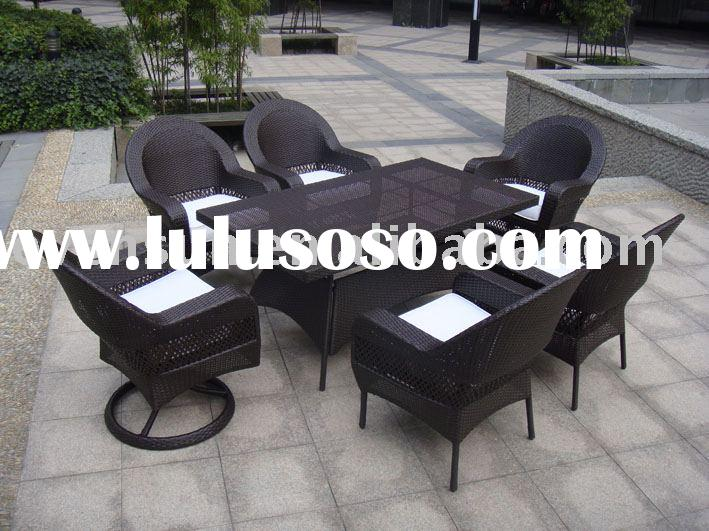 outdoor wicker furniture,wicker dining set
