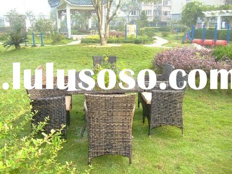 rattan furniture/dining set