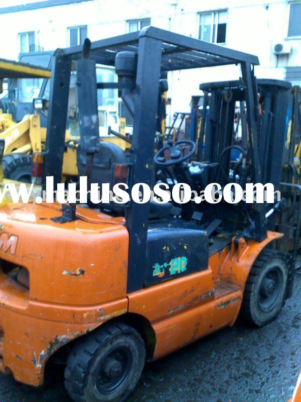 used TCM 3 ton automatic forklift truck ( fork lift trucks) with triplex mast
