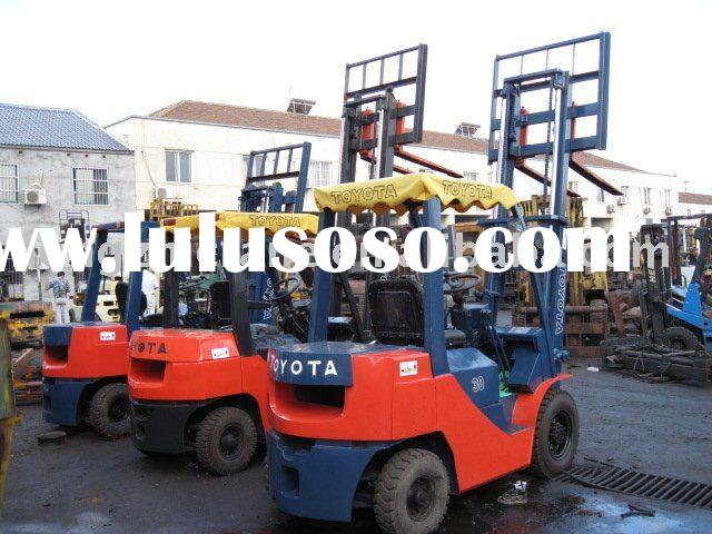 used battery forklift truck toyota 8FDN30
