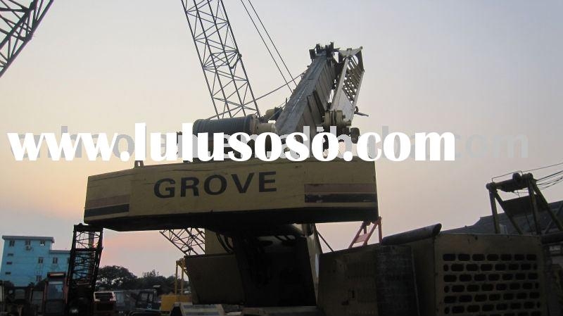 used rough crane GROVE 25t(used rough crane rough terrain crane used GROVE rough crane)