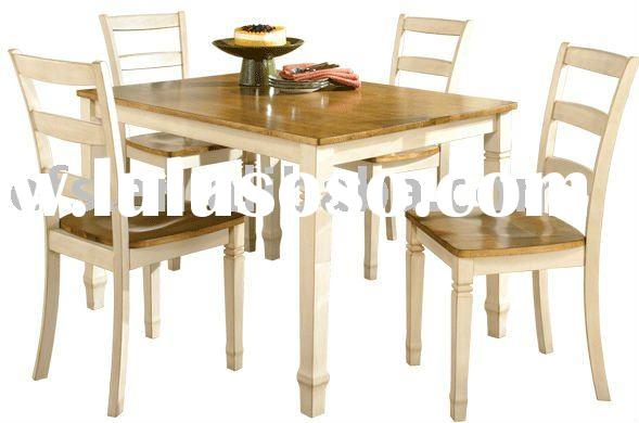 warm rustic look  dining table sets
